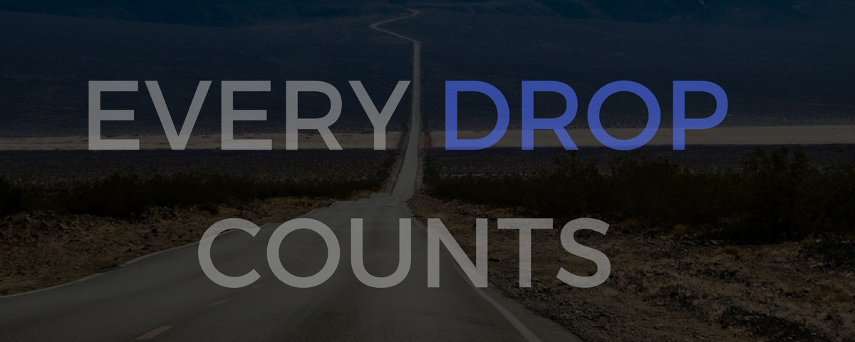 Water resource management - every drop counts